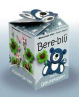 Greengift Happy-Bear blauw